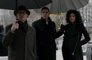 ハロルド・フィンチ&ジョン・リース&ハーパー・ローズ(Person of Interest)Michael Emerson & Jim Caviezel & Annie Ilonzeh