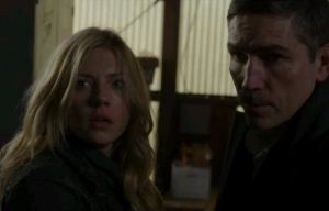 リース&フランチェスカ (Person of Interest)  Jim Caviezel & Katheryn Winnick
