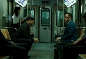 ハロルド・フィンチとイライアス Harold Finch & Carl Elias Person of Interest (Michael Emerson&Enrico Colantoni )