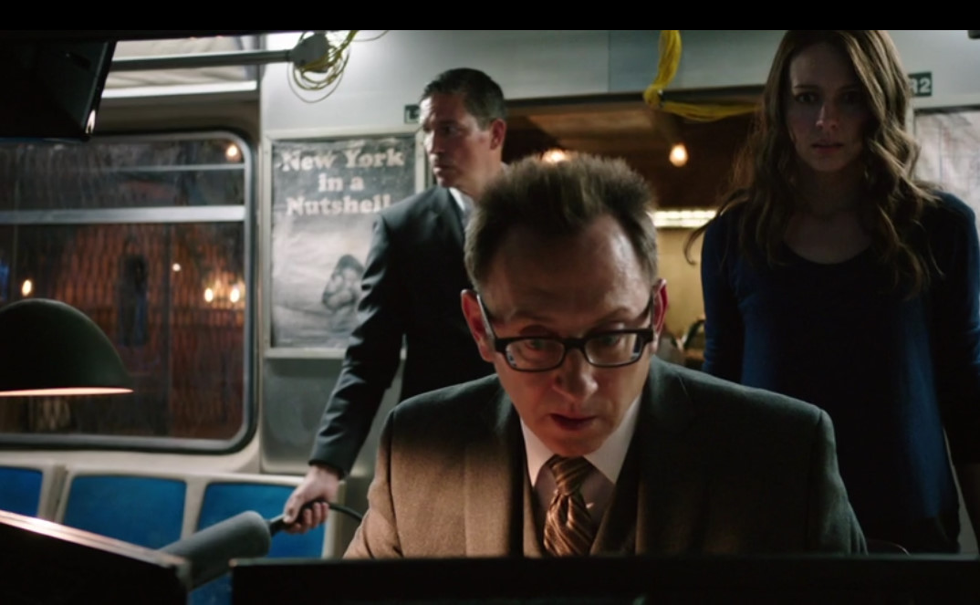リース&ハロルド&ルート  Person of Interest (Jim Caviezel & Michael Emerson&Amy Acker)