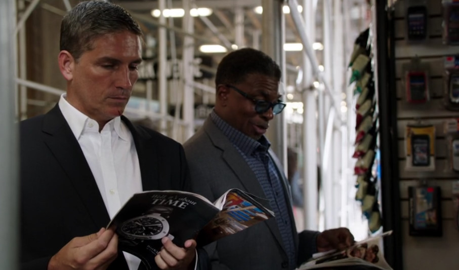 リース&ビール(Person of Interest)  Jim Caviezel & Keith David