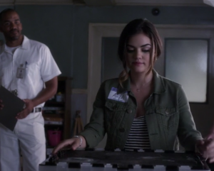 アリア(Lucy Hale )Pretty Little Liars