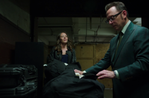 フィンチとルート(パーソンオブインタレスト) Harold Finch &SAMANTHA GROVES / ROOT Michael Emerson&Amy Acker