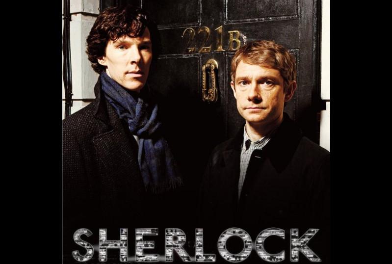 ジョン・ワトソン&シャーロック・ホームズ(Sherlock/シャーロック)Martin Freeman & Benedict Cumberbatch